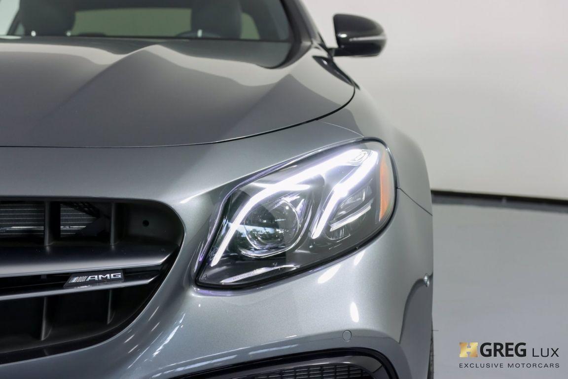 2018 Mercedes Benz E Class AMG E 63 S #5