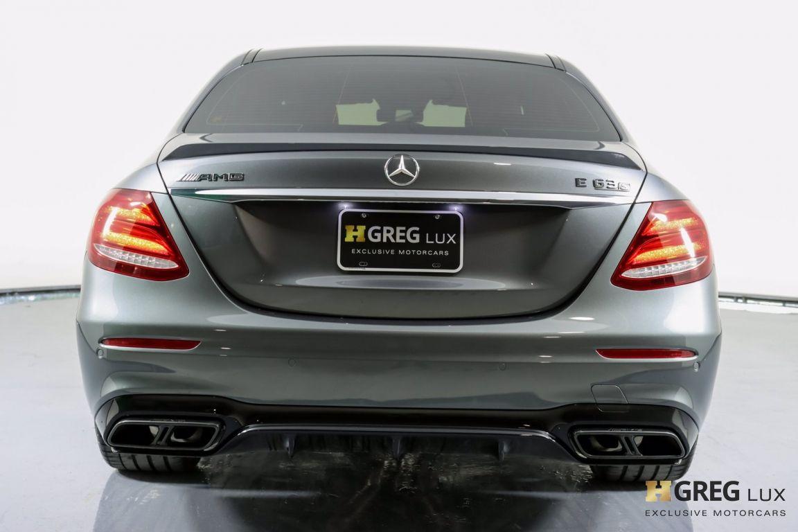 2018 Mercedes Benz E Class AMG E 63 S #16