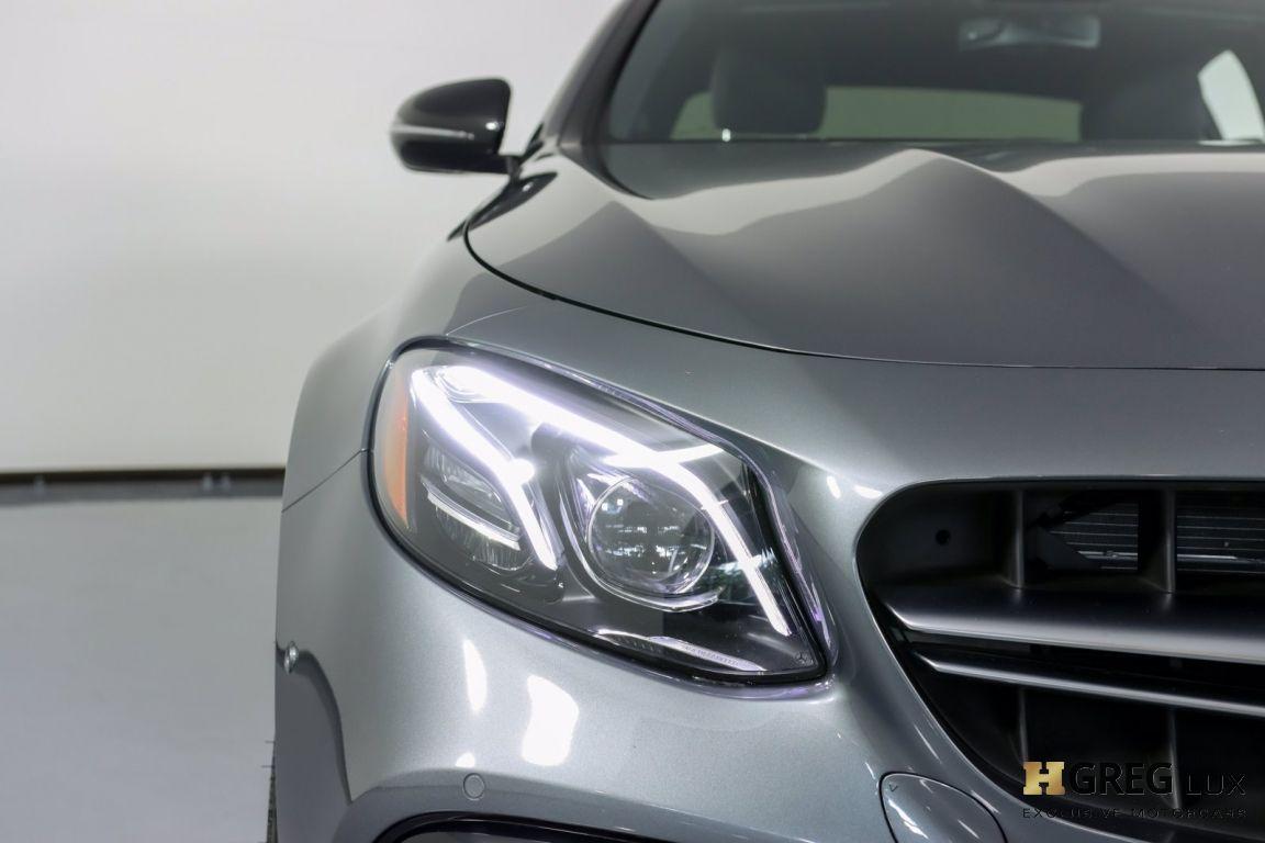2018 Mercedes Benz E Class AMG E 63 S #4