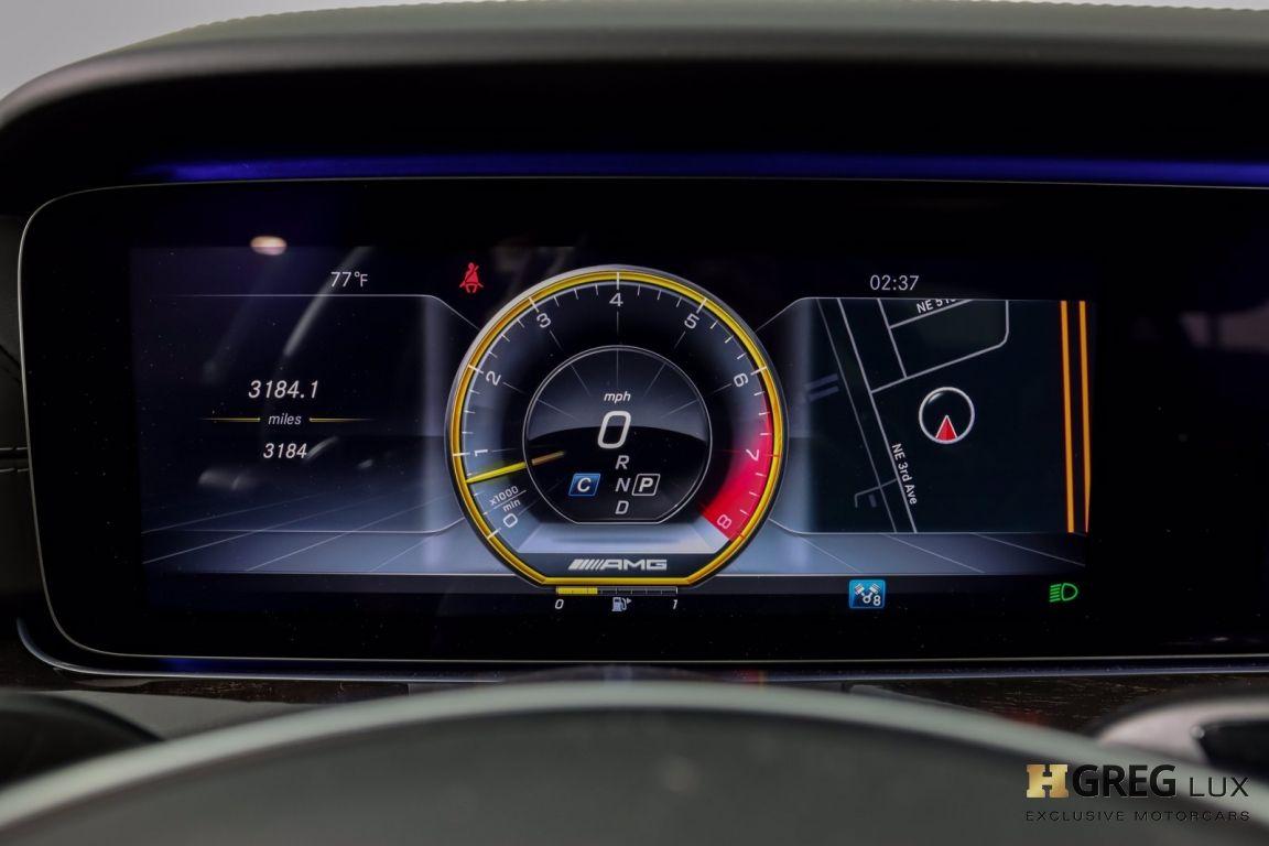2018 Mercedes Benz E Class AMG E 63 S #51