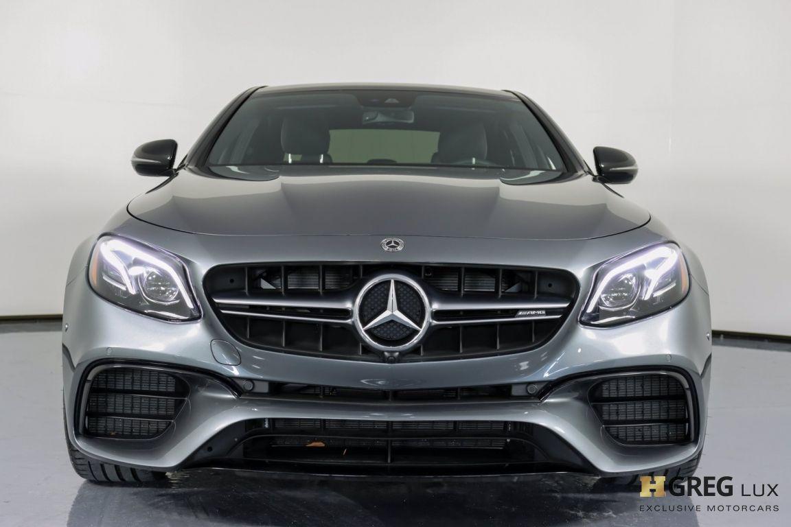 2018 Mercedes Benz E Class AMG E 63 S #3