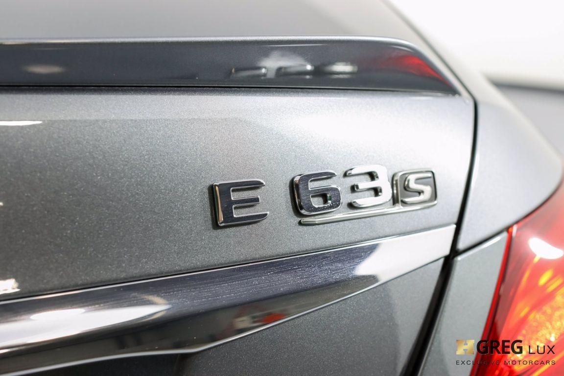 2018 Mercedes Benz E Class AMG E 63 S #19