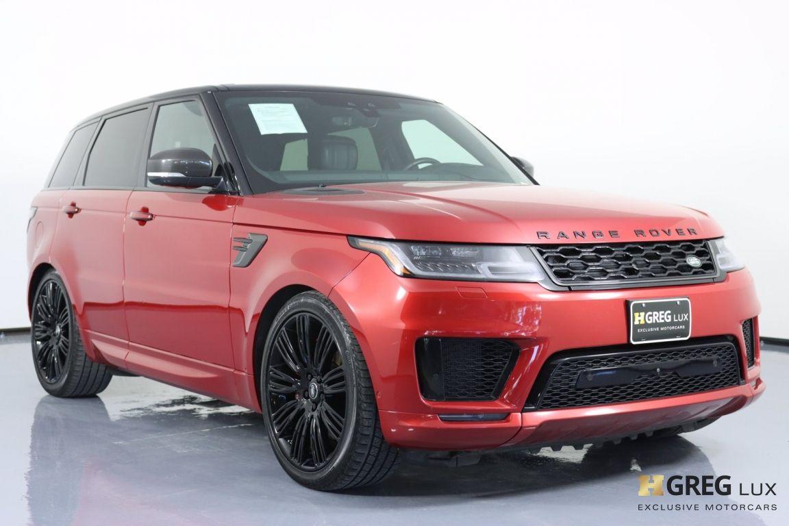 2019 Land Rover Range Rover Sport Autobiography #10