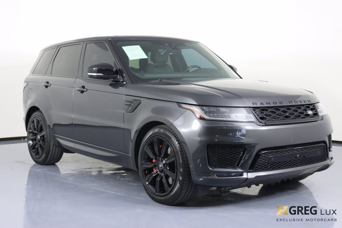 2018 Land Rover Range Rover Sport Supercharged #10