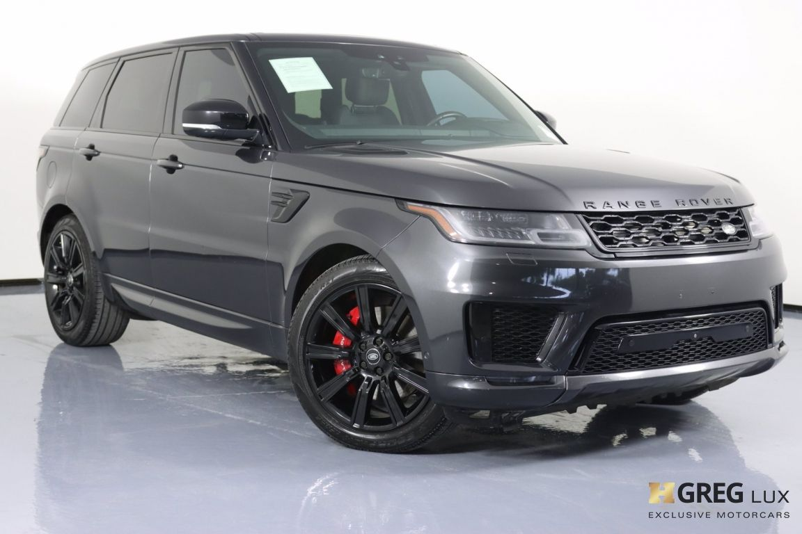 2018 Land Rover Range Rover Sport Supercharged #0