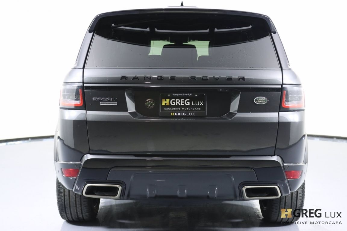 2018 Land Rover Range Rover Sport Supercharged #19
