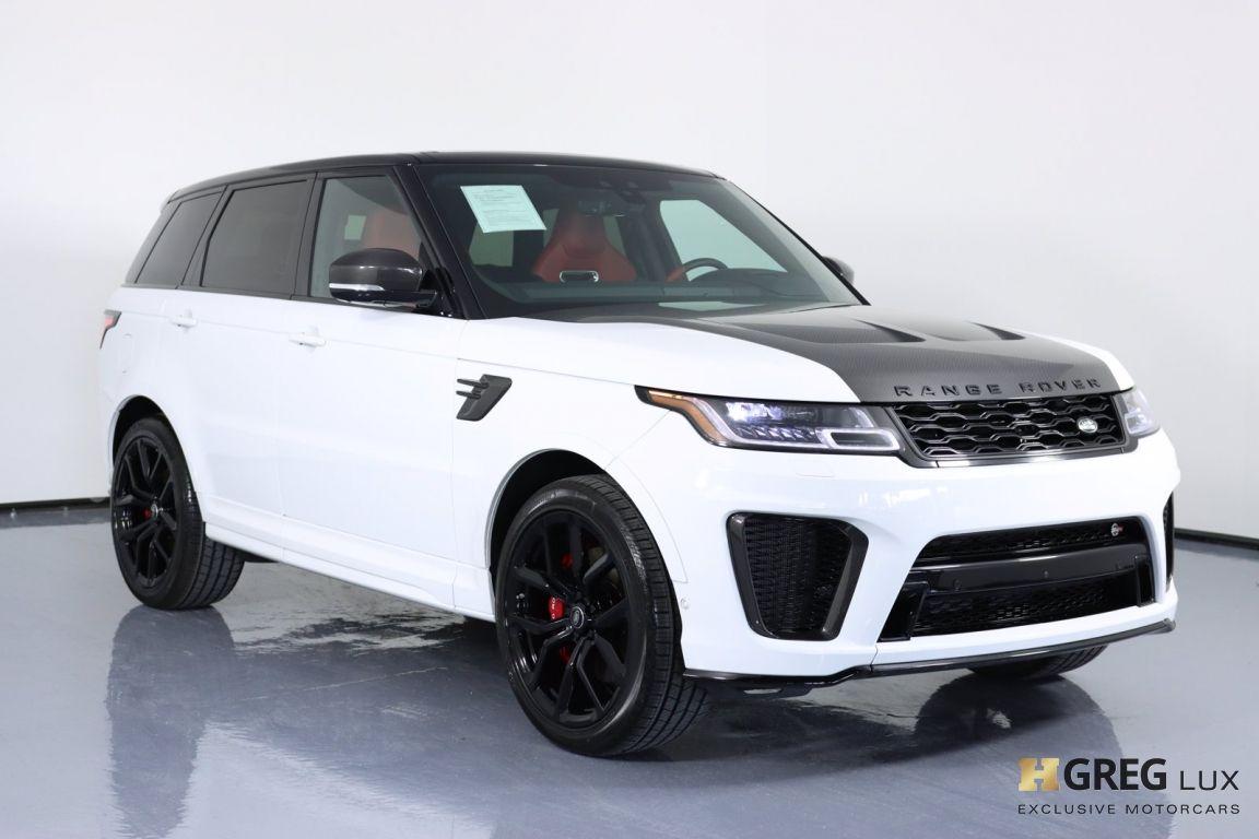 2021 Land Rover Range Rover Sport SVR #10