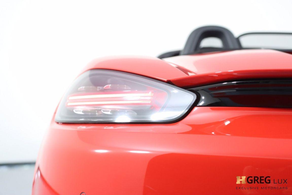 2017 Porsche 718 Roadster S #22