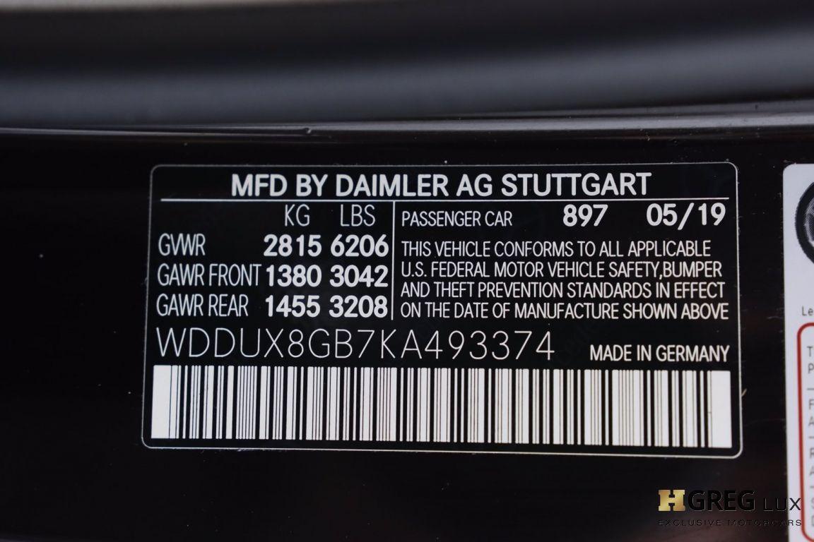 2019 Mercedes Benz S Class Maybach S 560 #81