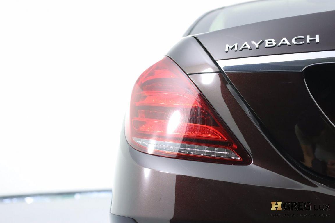 2019 Mercedes Benz S Class Maybach S 560 #22