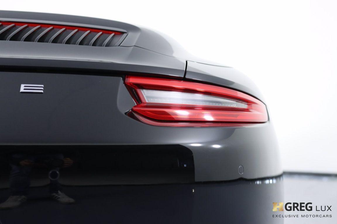 2017 Porsche 911 Carrera #20