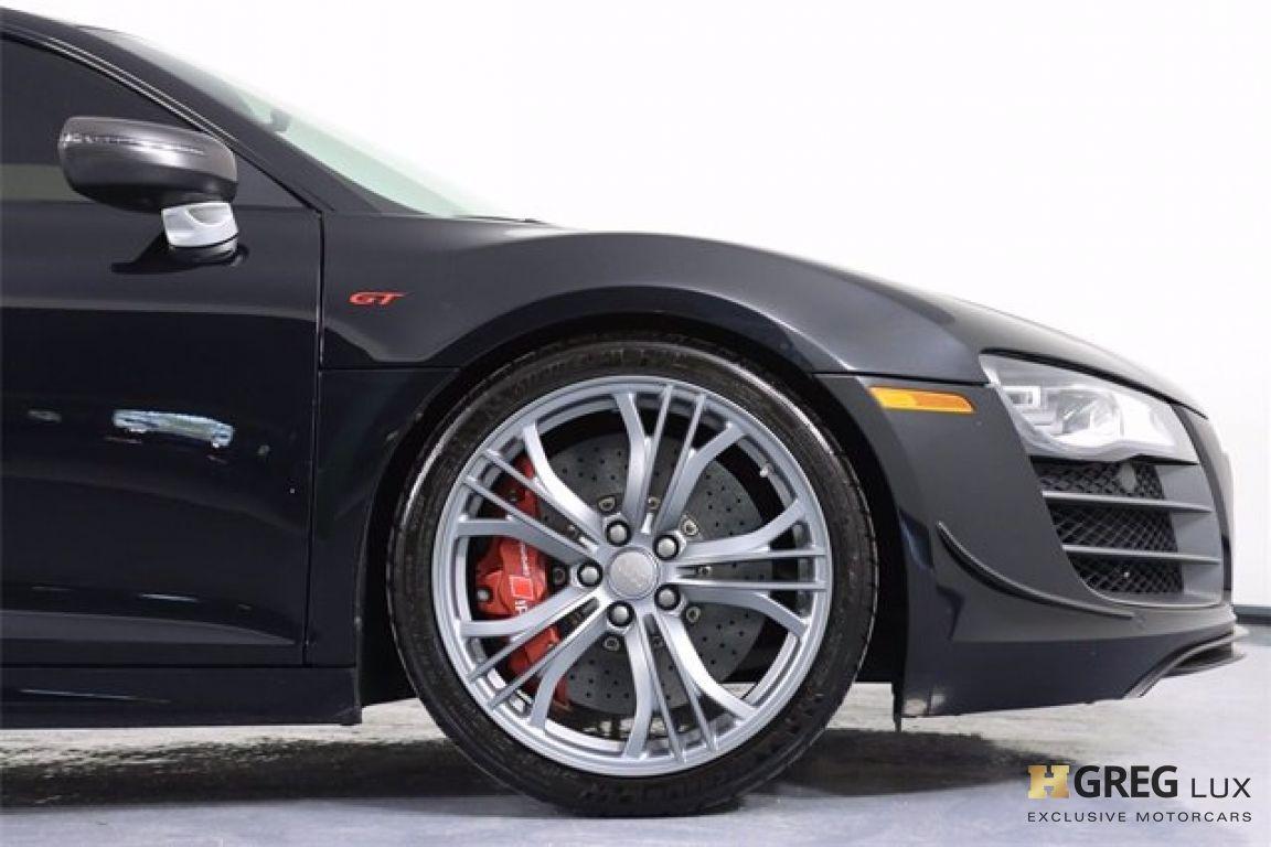 2012 Audi R8 5.2L GT #12