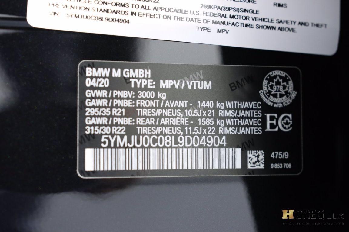 2020 BMW X5 M  #80