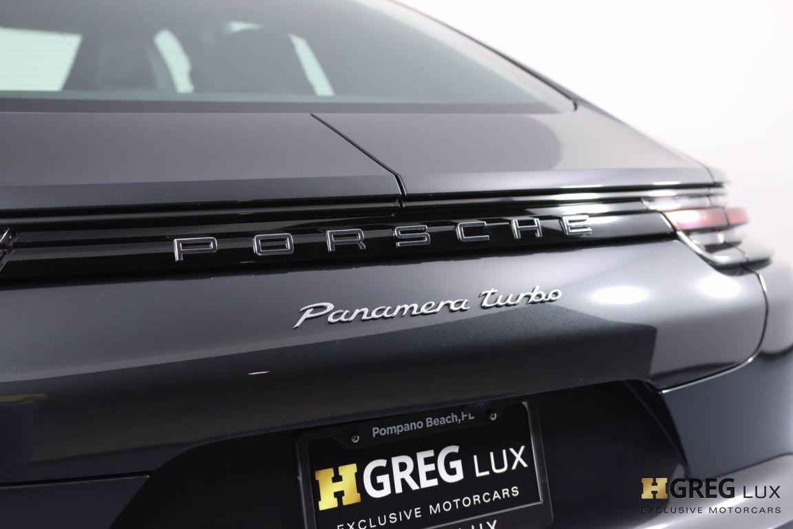 2017 Porsche Panamera Turbo #21