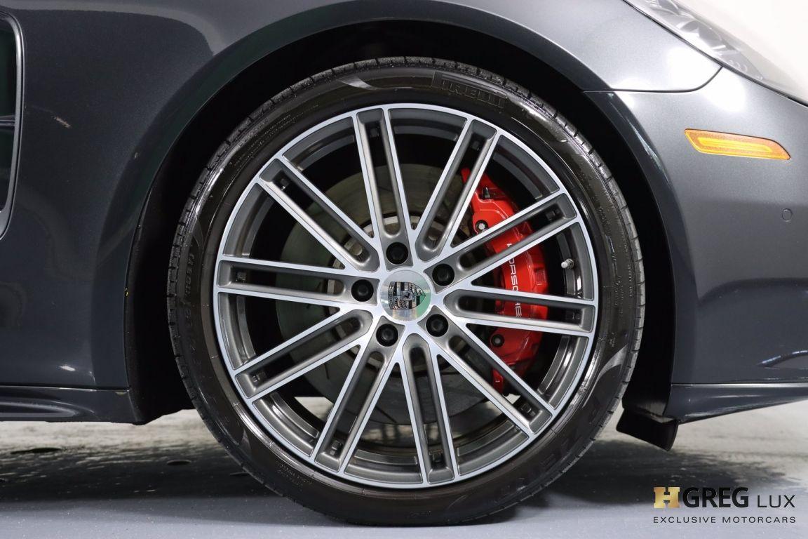 2017 Porsche Panamera Turbo #12