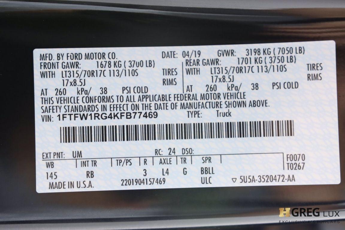 2019 Ford F 150 Raptor #69