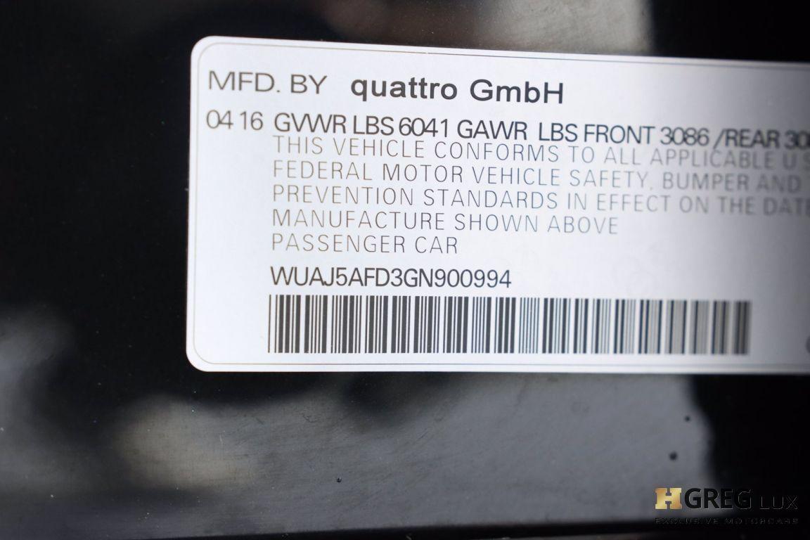 2016 Audi S8 Plus #68