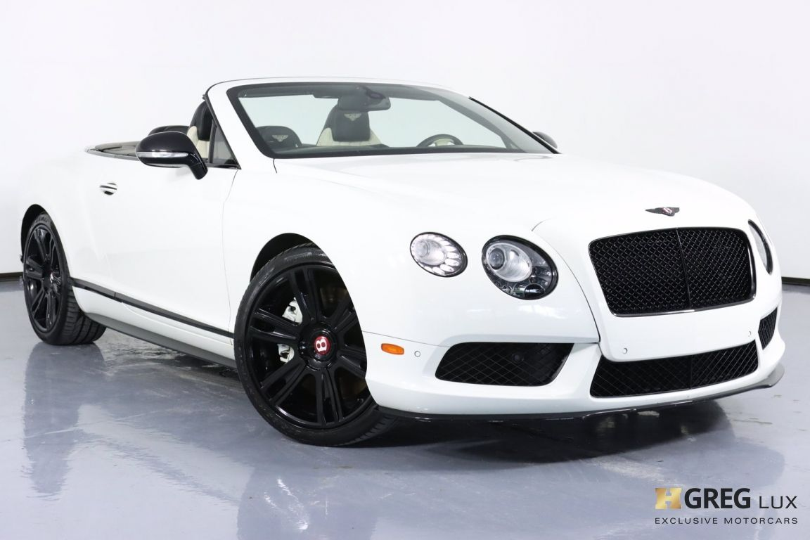 2015 Bentley Continental GT V8 S  #0
