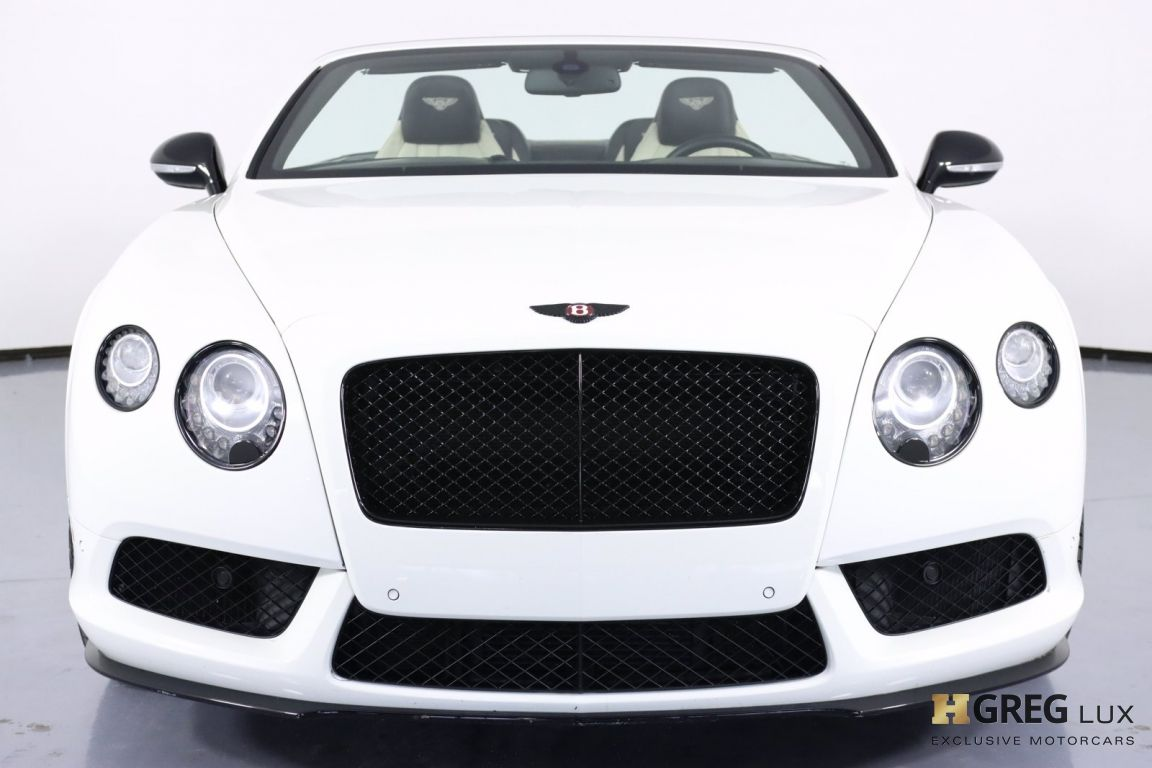2015 Bentley Continental GT V8 S  #4