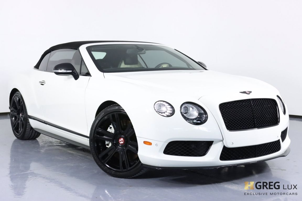 2015 Bentley Continental GT V8 S  #3