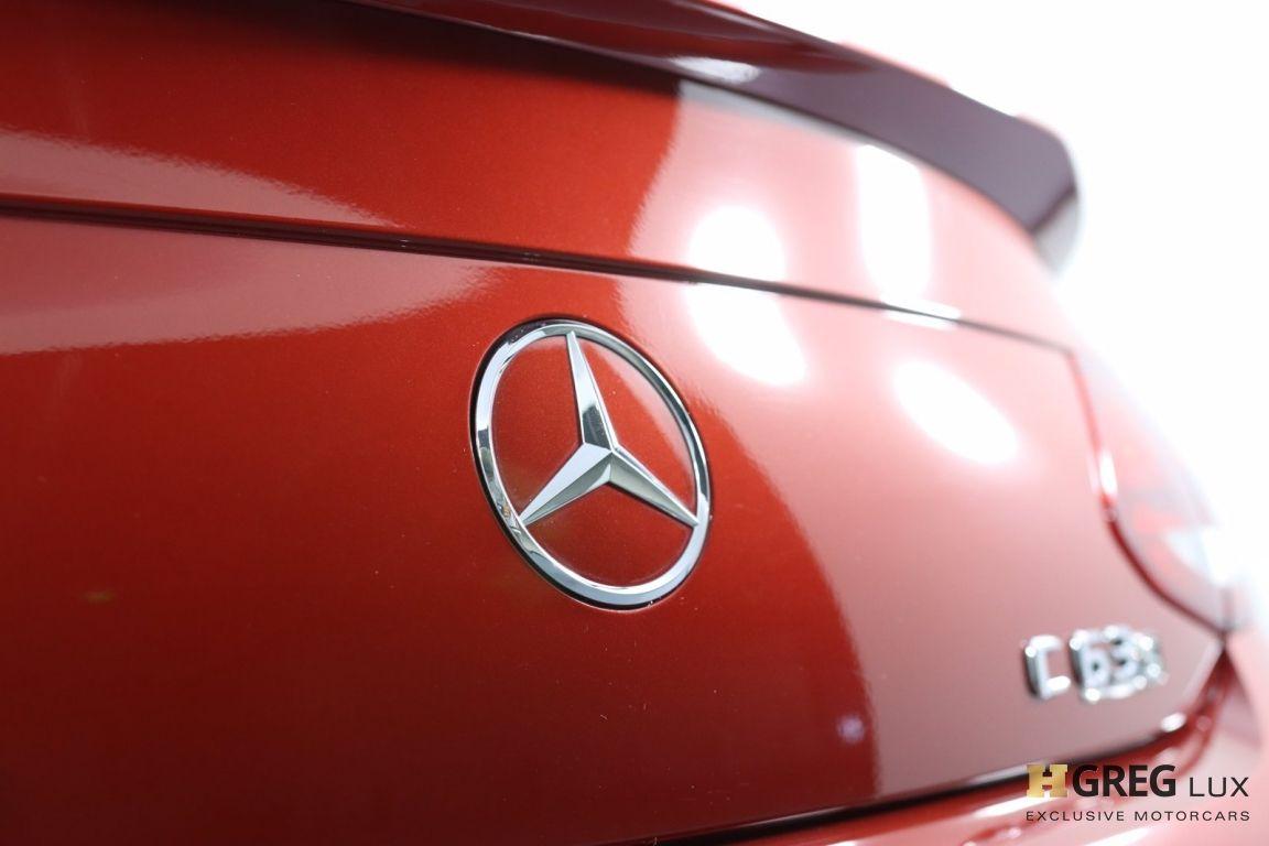 2018 Mercedes Benz C Class AMG C 63 S #24