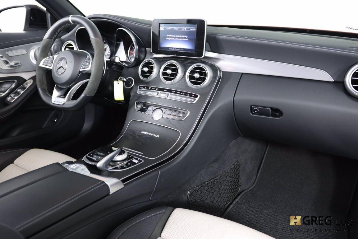 2018 Mercedes Benz C Class AMG C 63 S #71
