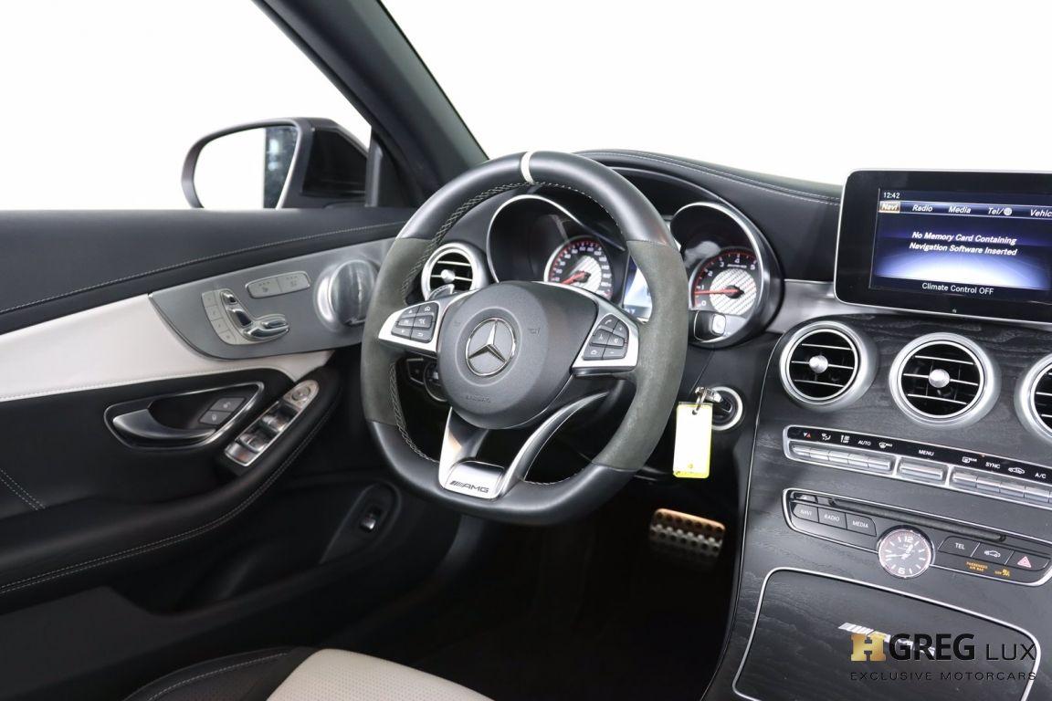 2018 Mercedes Benz C Class AMG C 63 S #59
