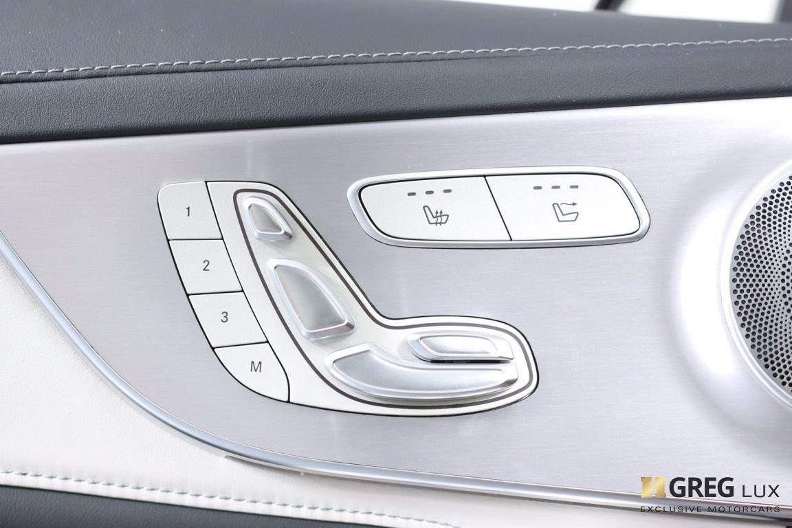 2018 Mercedes Benz C Class AMG C 63 S #50