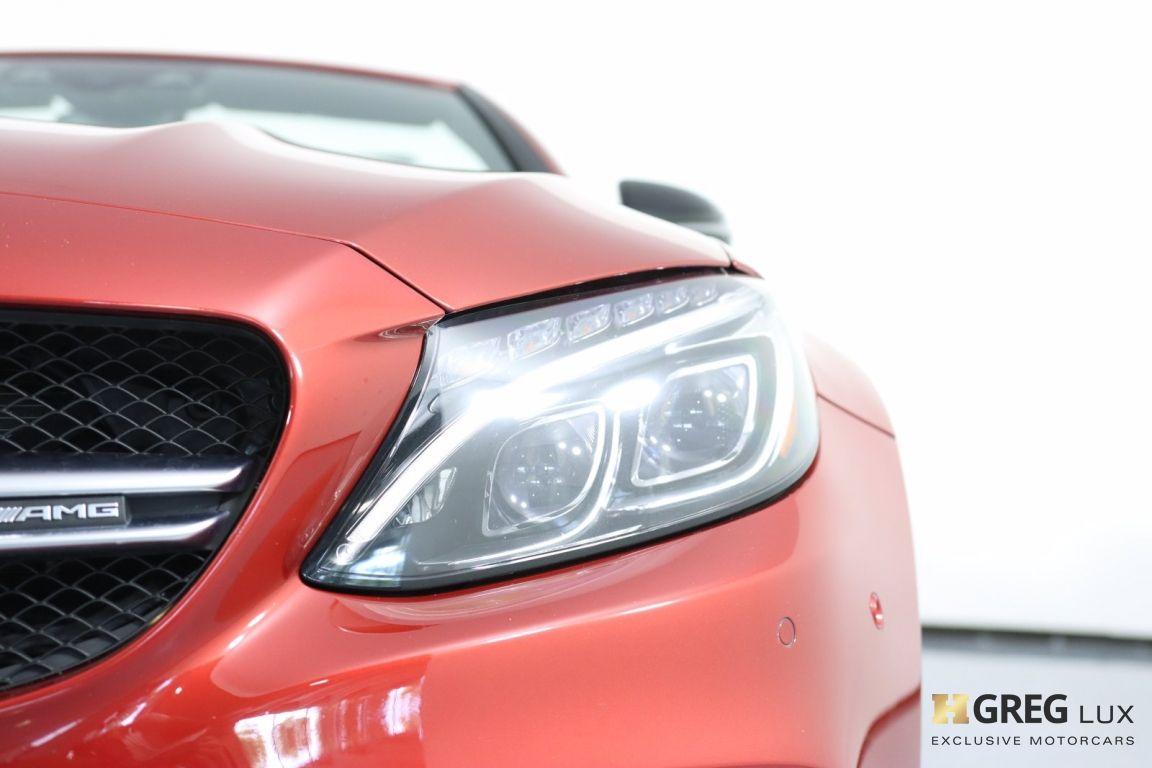 2018 Mercedes Benz C Class AMG C 63 S #6