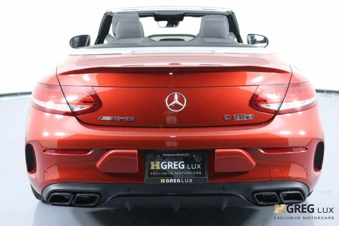 2018 Mercedes Benz C Class AMG C 63 S #21