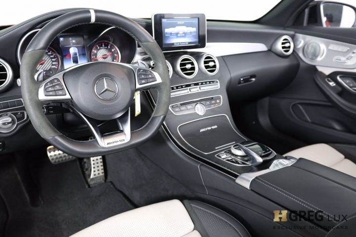 2018 Mercedes Benz C Class AMG C 63 S #1