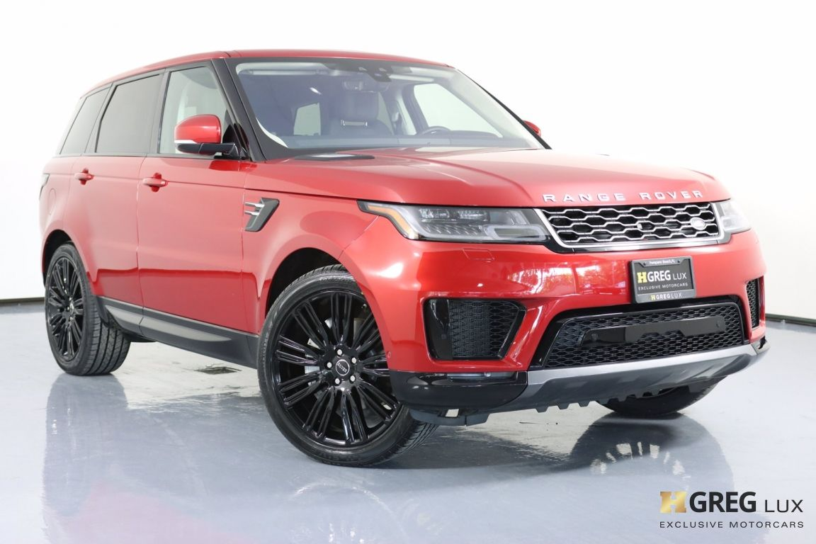 2020 Land Rover Range Rover Sport HSE #0