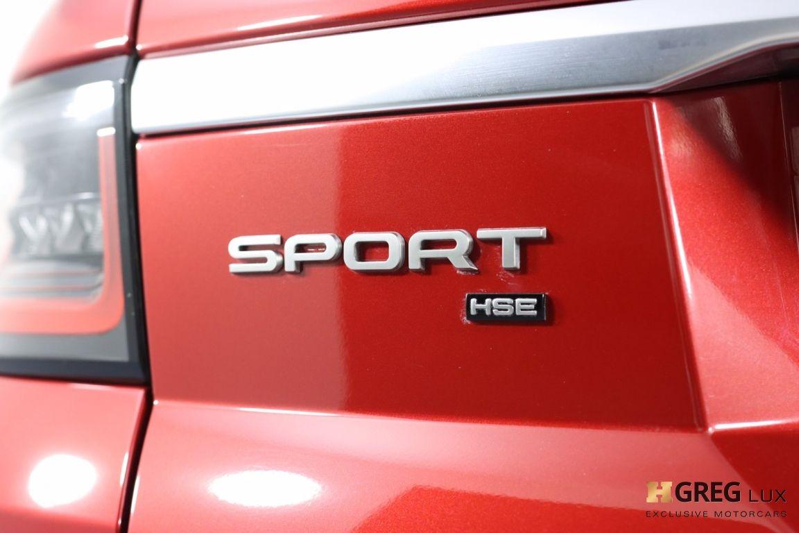 2020 Land Rover Range Rover Sport HSE #21