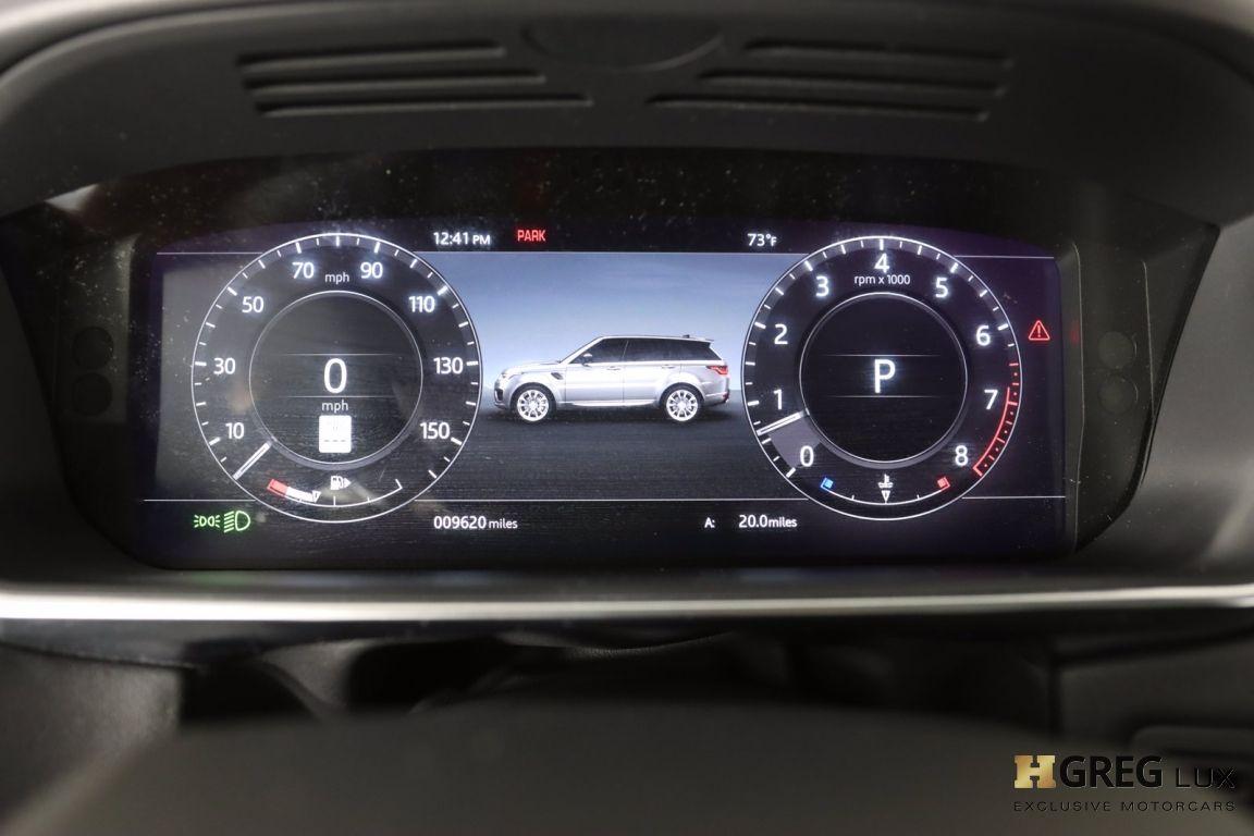2020 Land Rover Range Rover Sport HSE #55