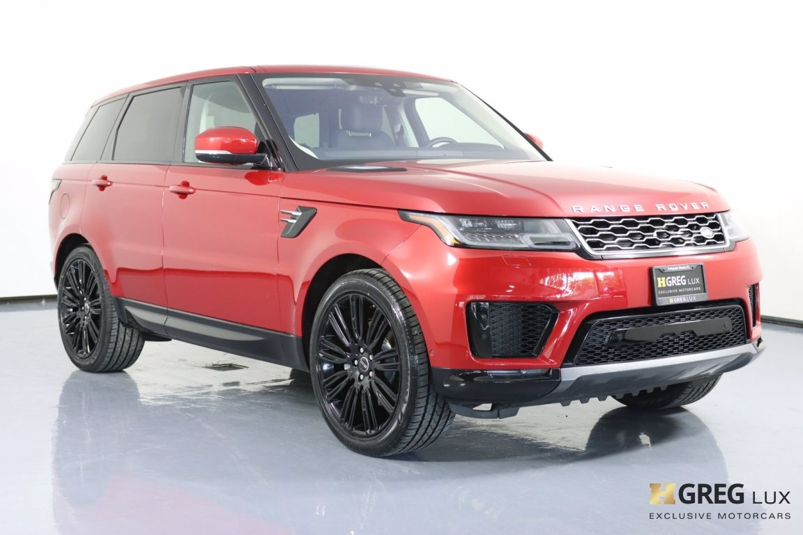 2020 Land Rover Range Rover Sport HSE #10
