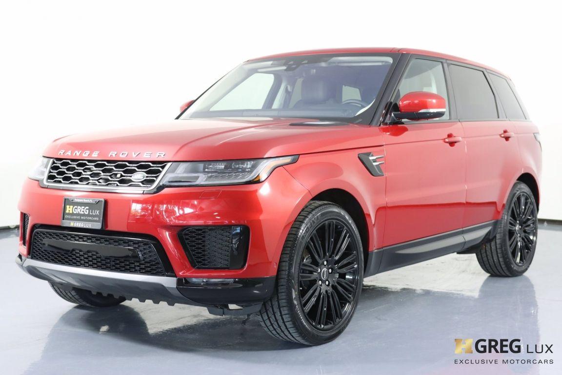 2020 Land Rover Range Rover Sport HSE #29
