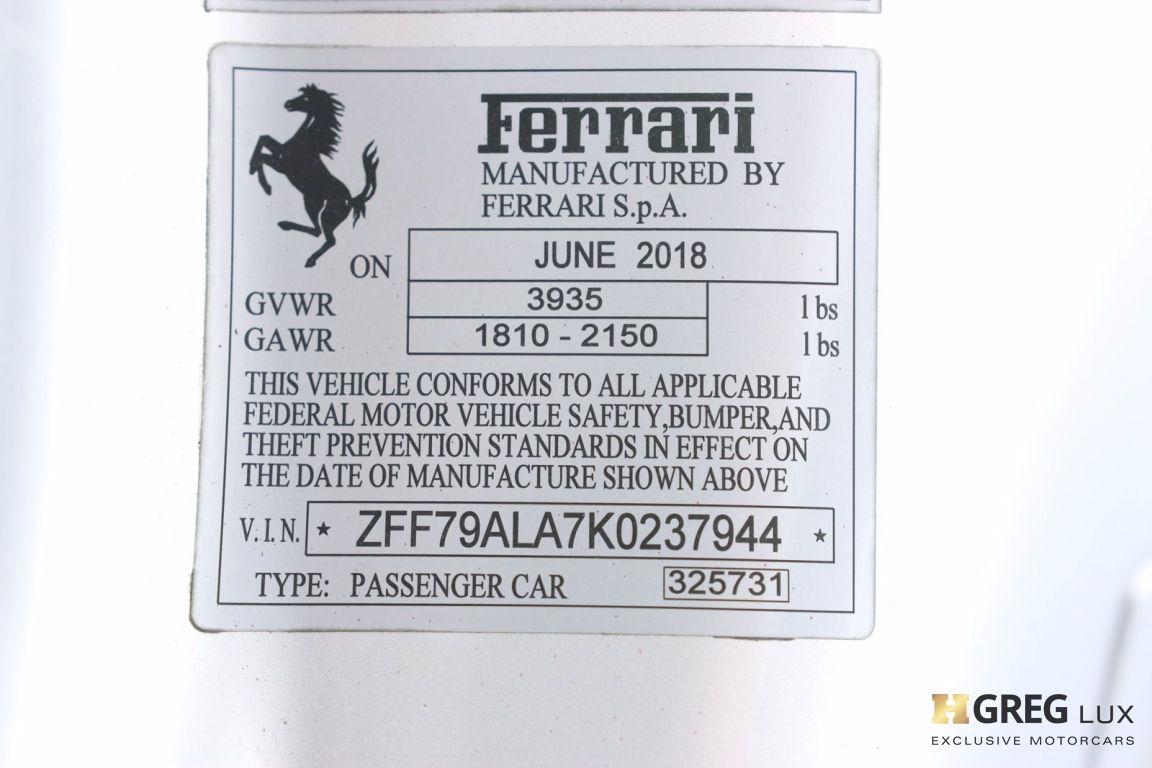 2019 Ferrari 488 GTB  #68