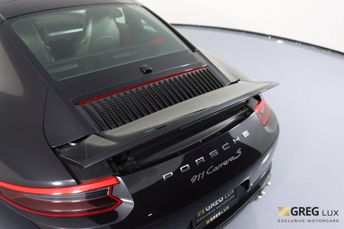 2018 Porsche 911 Carrera S #22