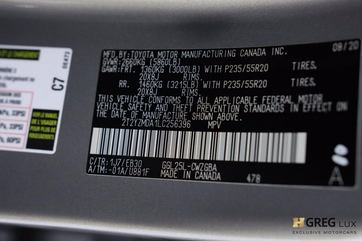 2020 Lexus RX RX 350 F SPORT Performance #55