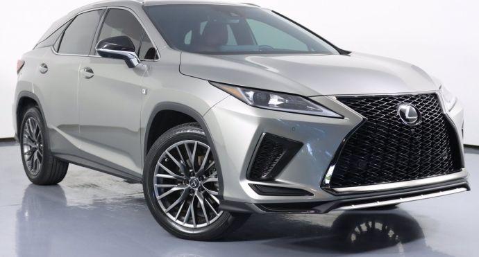 2020 Lexus RX RX 350 F SPORT Performance #0