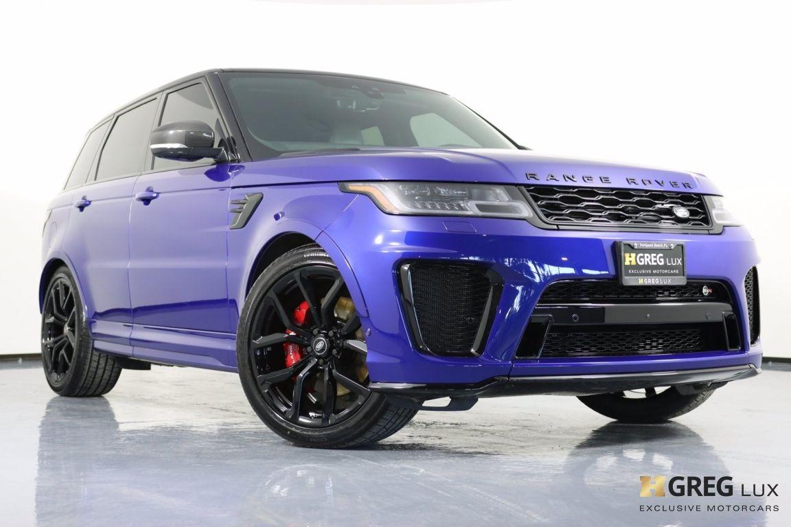 2021 Land Rover Range Rover Sport SVR #33