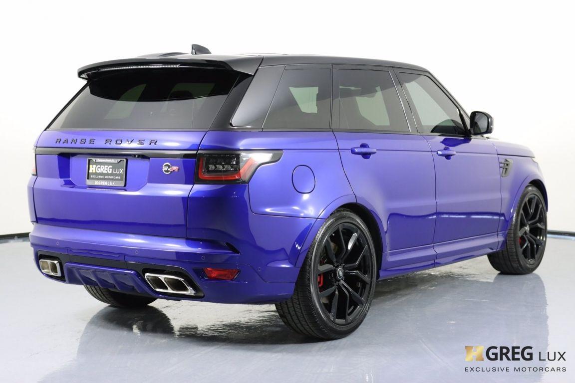 2021 Land Rover Range Rover Sport SVR #18