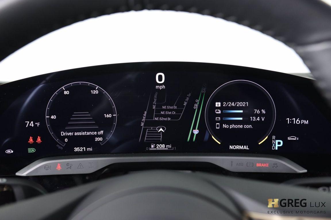 2020 Porsche Taycan Turbo S #61