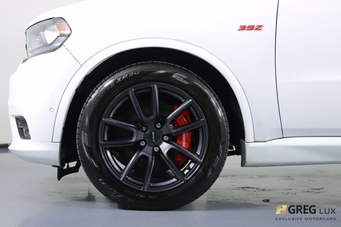 2018 Dodge Durango SRT #25