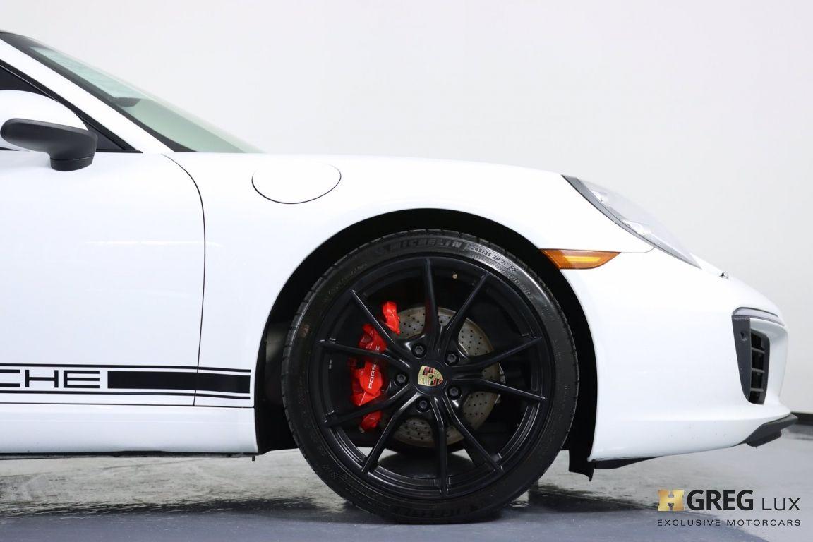 2017 Porsche 911 Carrera #12
