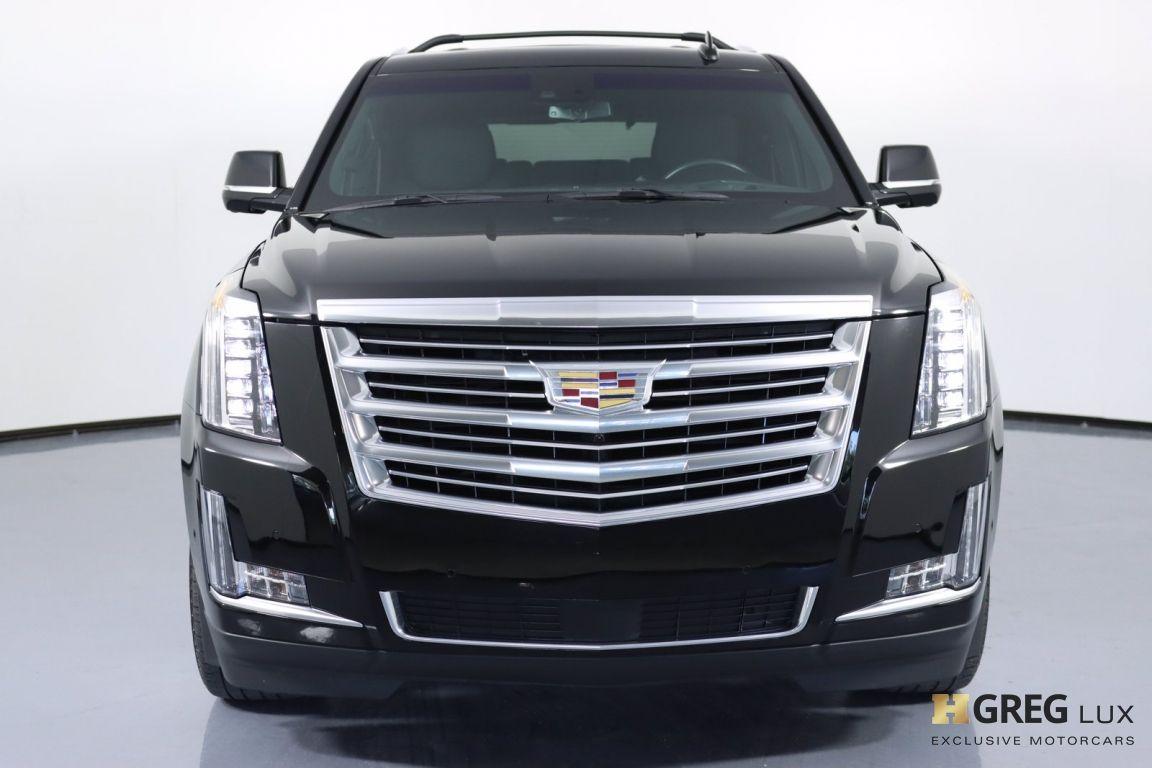 2018 Cadillac Escalade Platinum #4