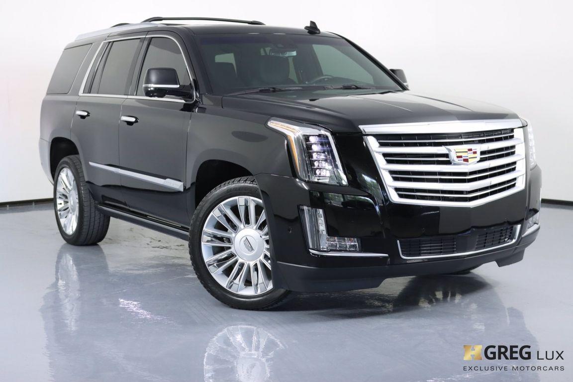 2018 Cadillac Escalade Platinum #0