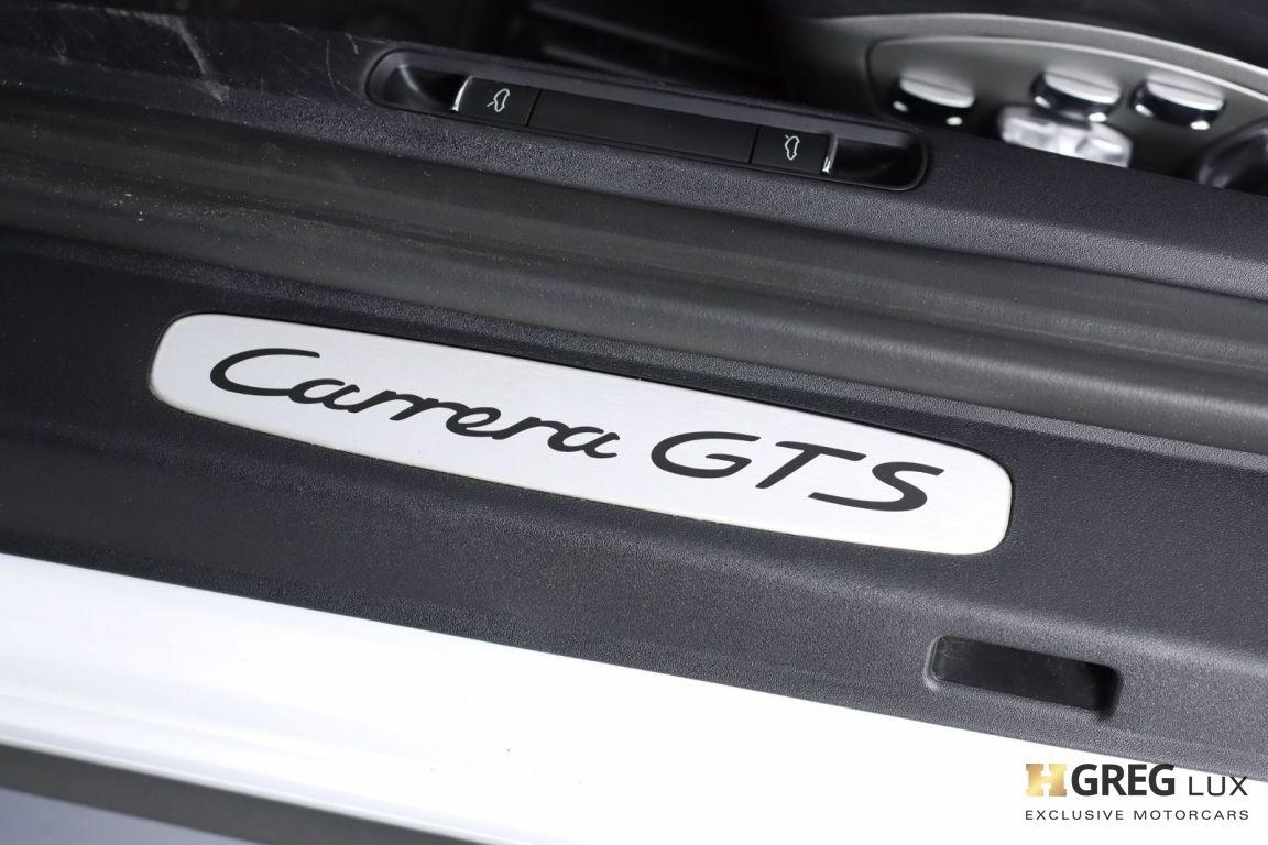 2015 Porsche 911 Carrera GTS #48
