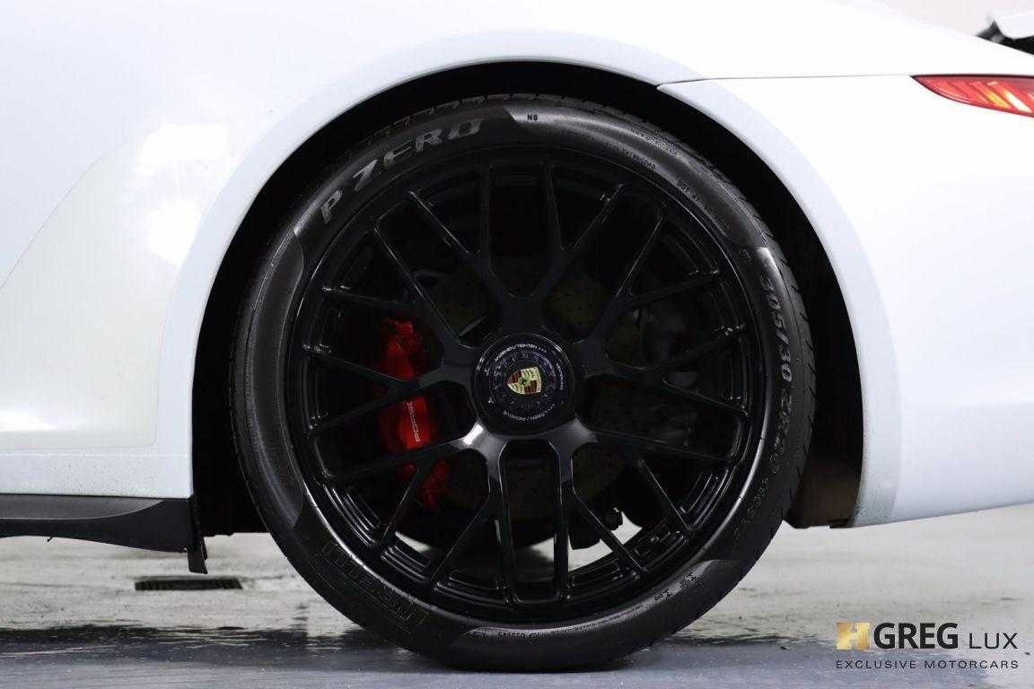 2015 Porsche 911 Carrera GTS #31