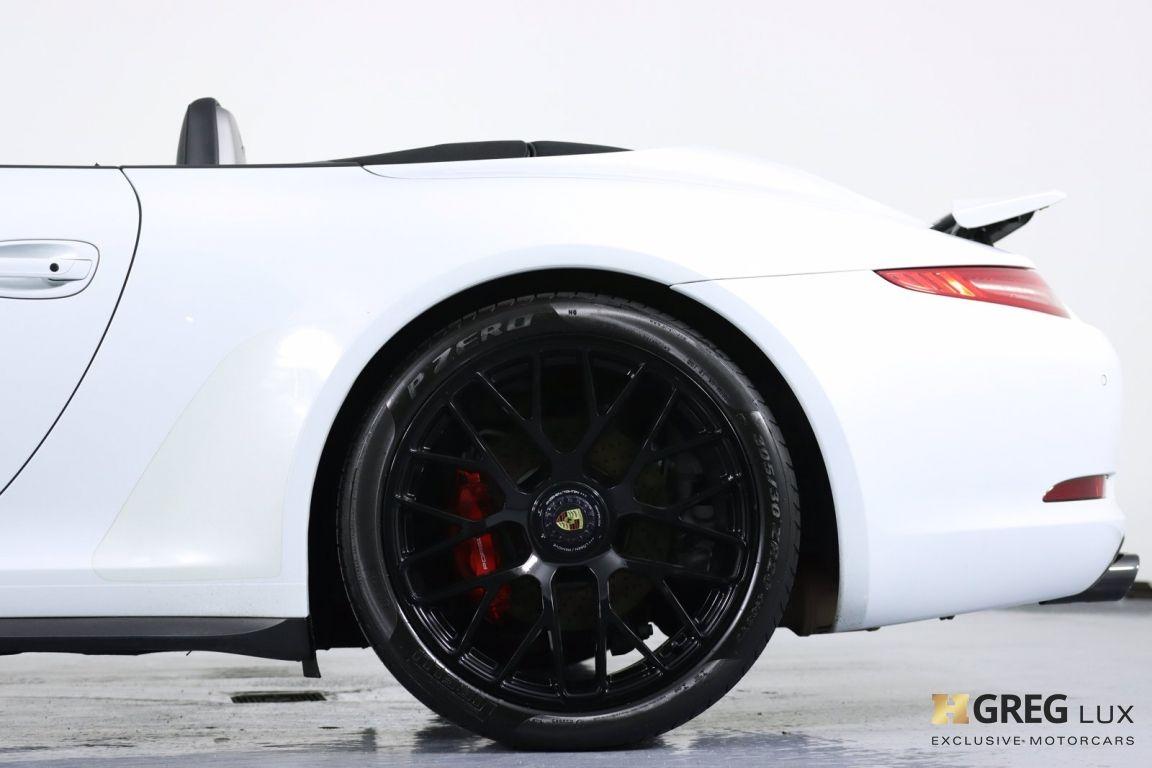 2015 Porsche 911 Carrera GTS #30